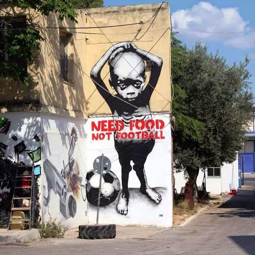 Anti-Fifa Graffiti Collection