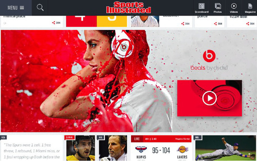 Sports Unveils A New Web Design And A Fantasy Sports App