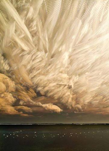 Timelapse clouds