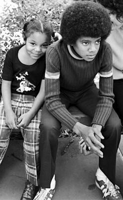 Micheal and Janet Jackson Young