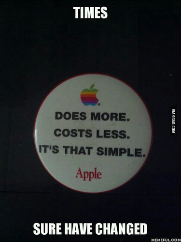Old apple catchphrase