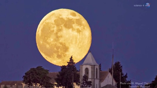 Summer of super moons! Bathe in moonlight July, Aug, Sept. The first? Tomorrow.