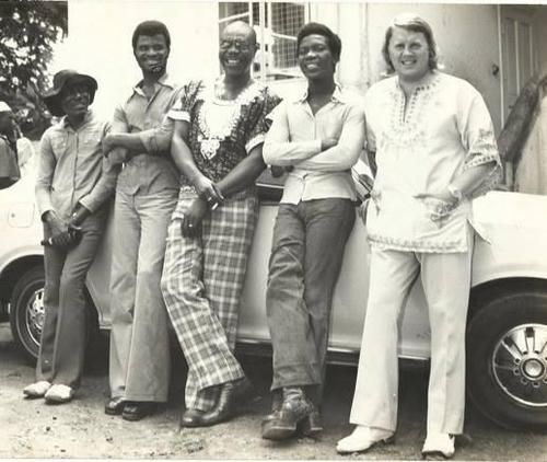 Manu Dibango, Slim Pezin & some #afro-funk legends