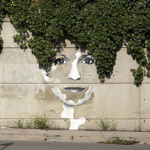 Pieces Of Street Art That Cleverly Interact With Nature
