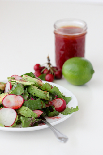 Sweet Cherry Lime Vinaigrette #food #recette