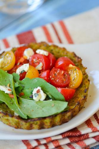 Heirloom Cauliflower Crust Tarts Recipe | ChefDeHome.com #food #rec...