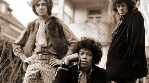 The Jimi Hendrix Experience, 1967.