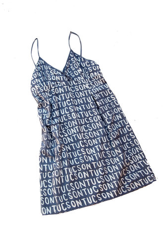 tucson print summer dress