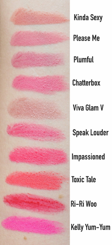 Top Ten MAC Lipsticks
