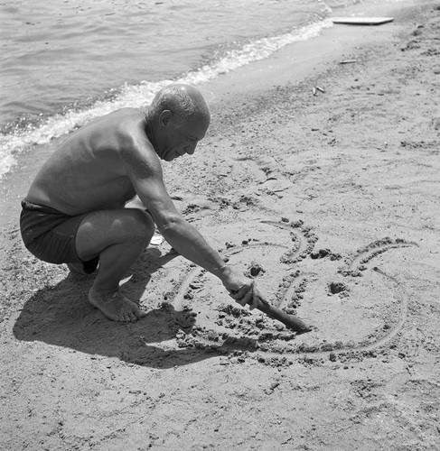 Pablo Picasso par Willy Rizzo, 1960's.