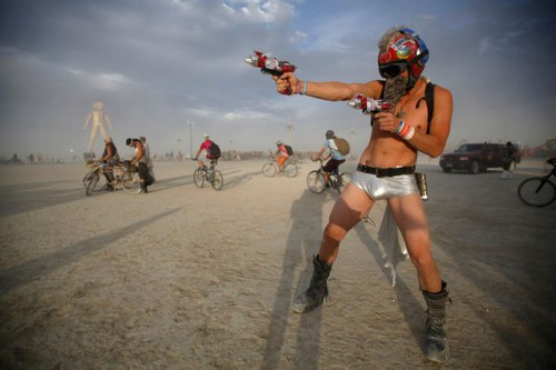 Trippin' at Burning Man