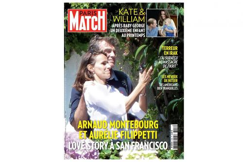 La une de Paris Match