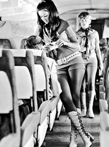 70′s stewardess…what travel used to look like