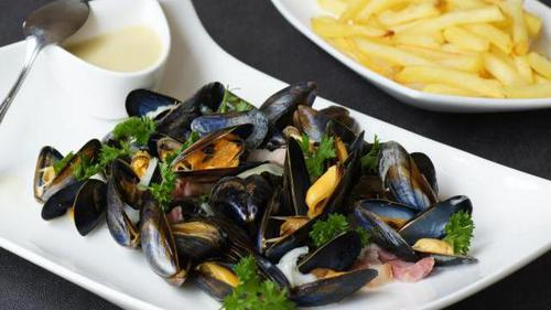 moules à la marinière #top5food