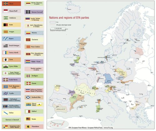Map: What Europe Would Look Like If All the Separatist Movements Got Their Way
