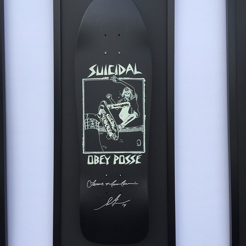 Suicidal Obey Posse, design by Lance Mountain