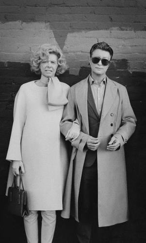 David Bowie as Tilda Swinton, with Tilda Swinton as David Bowie by Jeff Cronenweth.