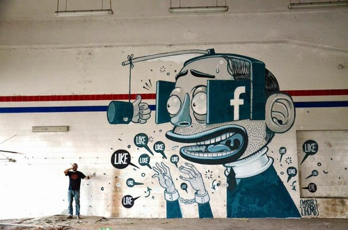 Mural by Mr Thoms - In Ferentino, Italy - STREET ART UTOPIA