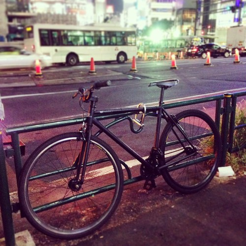 """black beauty"" he said. and I agree #bike #japan"