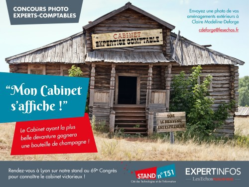 expert infos vous invite participer au concours mon cabinet s affiche. Black Bedroom Furniture Sets. Home Design Ideas