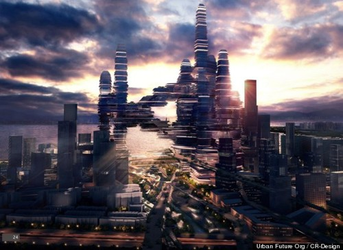 Cloud Citizen, Futuristic 'Super City,' Wins Contest For New Shenzhen Business District