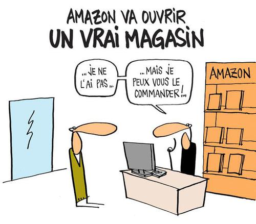 On rêve ... (quand Amazon copie la Fnac...)