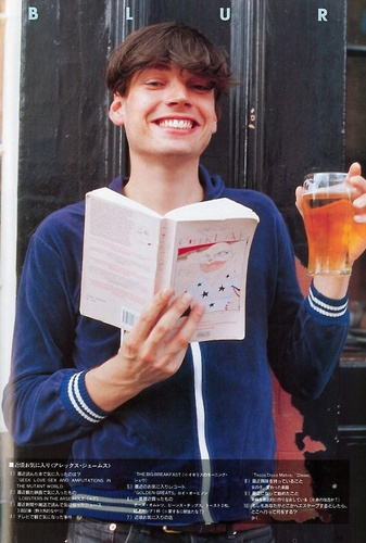 Alex James of Blur