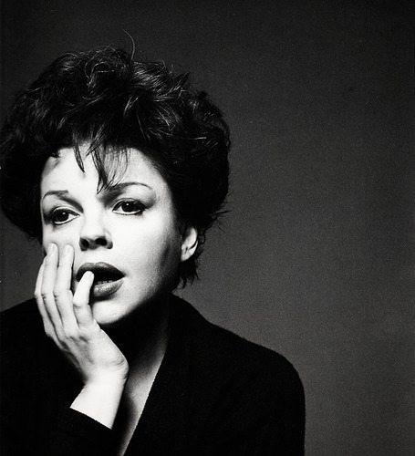 Judy Garland seen by Richard Avedon