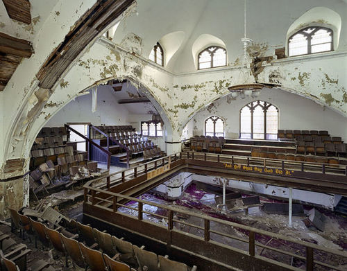 The Grandiose Decay of Abandoned Detroit: East Methodist Church