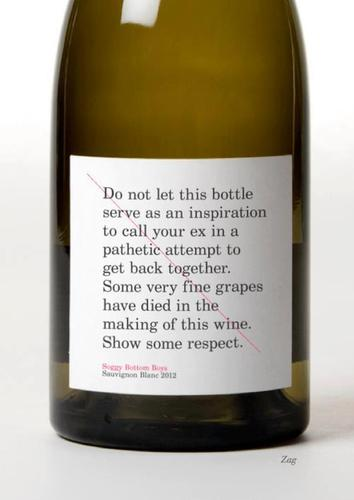 Show some respect for this wine
