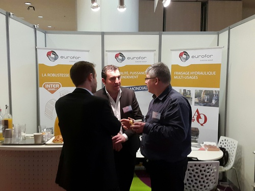 DLR 2015: Le stand 62, le stand fort