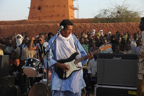 Jimi Hendrix. Bob Marley. Mark Knopfler? Dire Straits was BIG in the Sahel
