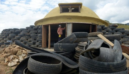 Earthships colombiens