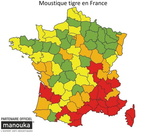 La menace du tigre ( version moustique)