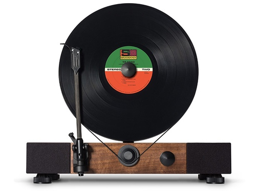 Vertical Turntable by Floating Record