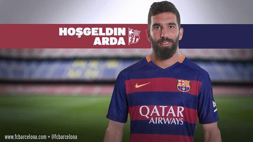 le Barça officialise le recrutement de Arda Turan !