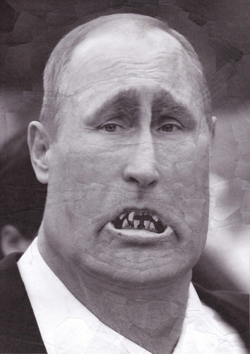 World Leaders Are Monsters in These Distorted Collages