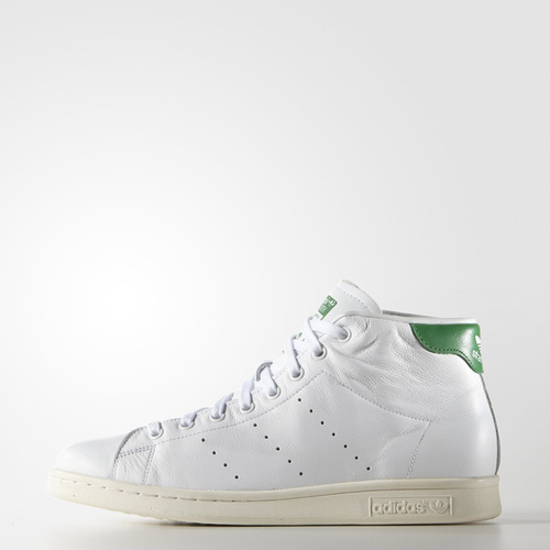 adidas Originals sort la sneaker blanche Stan Smith en version mid top 1