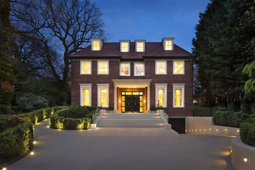 Celia Sawyer's £22 million house