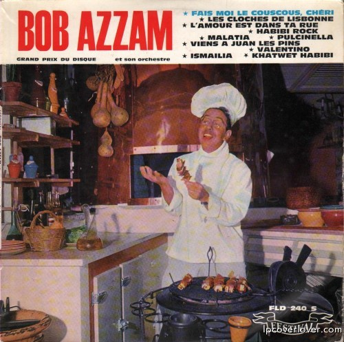 Bob Azzam and his Orchestra on Festival Records (France)