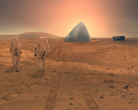3D-printed ice house wins NASA Mars Habitat contest