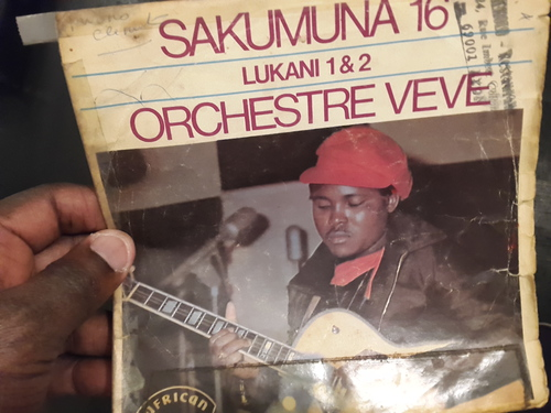 Orchestre Vévé - LUKANI 1& 2 (Congolese funk and psychedelic rumba - Editions Sakumuna 1975 )