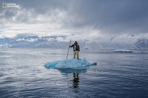 Inside A Photographer's Mission To Capture The Human Face Of Climate Change