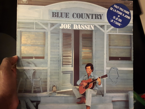 Joe Dassin ‎– Blue Country (CBS ‎– 1979)
