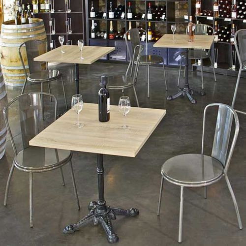 Tables et chaises bois pour bar restaurant - Chaise de bar d occasion ...