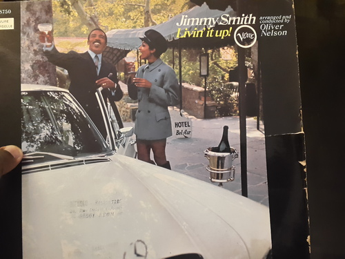 Jimmy Smith ‎– Livin' It Up! (Verve Records - 1968)