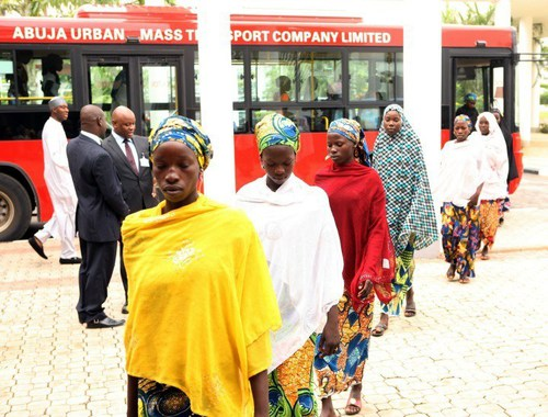 FINALLY, THE GIRLS ARE BACK!! 241 Women & Children Abducted by Boko Haram are Free!