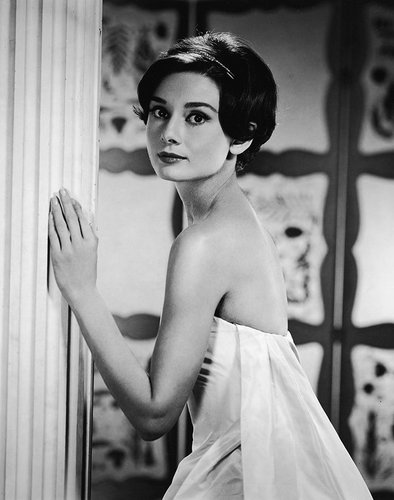 Audrey Hepburn in 1955