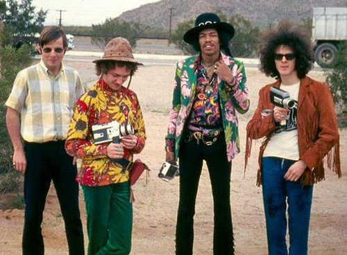 The Jimi Hendrix Experience, 1968