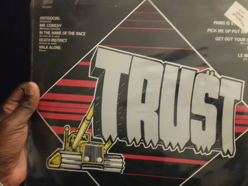 Trust - Repression (UK Version - CBS 1980)